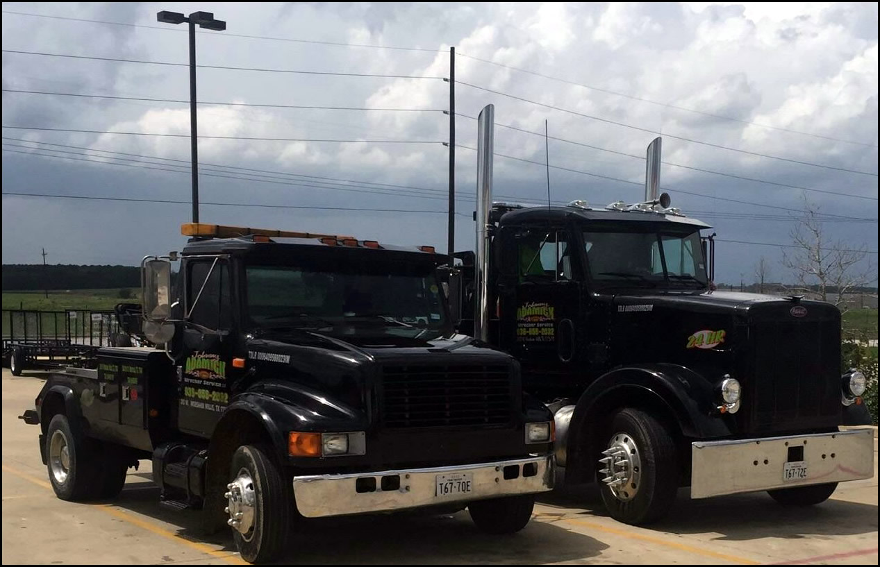 Johnny Adamick Wrecker Service, Auto Towing Services, Willis, Texas
